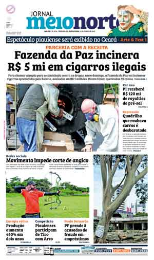 Jornal Meio Norte do dia 24-06-2016