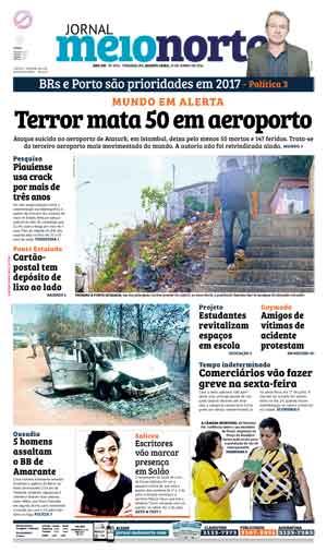 Jornal Meio Norte do dia 29-06-2016