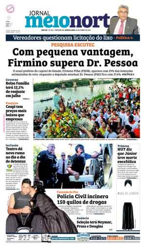 Jornal Meio Norte do dia 30-06-2016