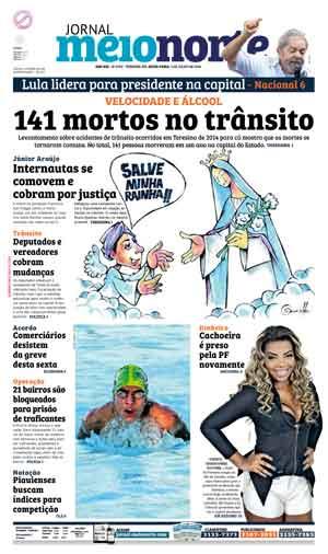 Jornal Meio Norte do dia 1-07-2016