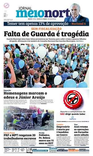 Jornal Meio Norte do dia 2-07-2016