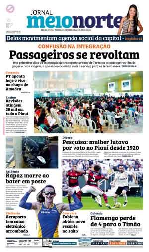 Jornal Meio Norte do dia 4-07-2016