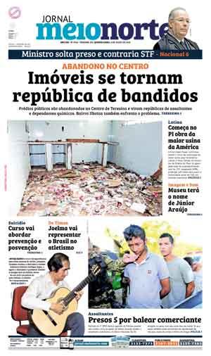 Jornal Meio Norte do dia 6-07-2016