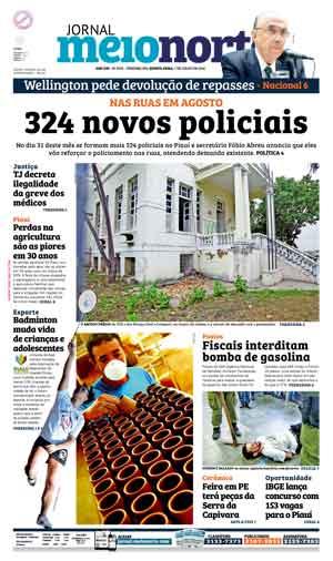 Jornal Meio Norte do dia 7-07-2016