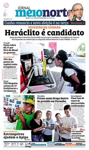 Jornal Meio Norte do dia 8-07-2016