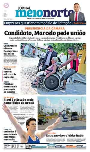Jornal Meio Norte do dia 9-07-2016