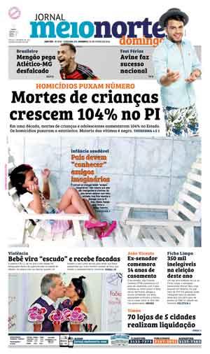 Jornal Meio Norte do dia 10-07-2016
