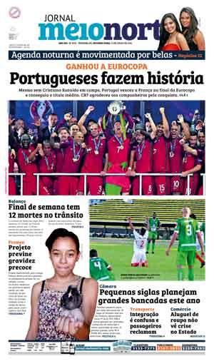 Jornal Meio Norte do dia 11-07-2016