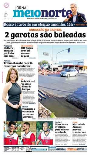 Jornal Meio Norte do dia 12-07-2016