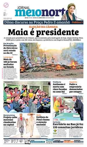 Jornal Meio Norte do dia 14-07-2016