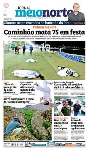 Jornal Meio Norte do dia 15-07-2016