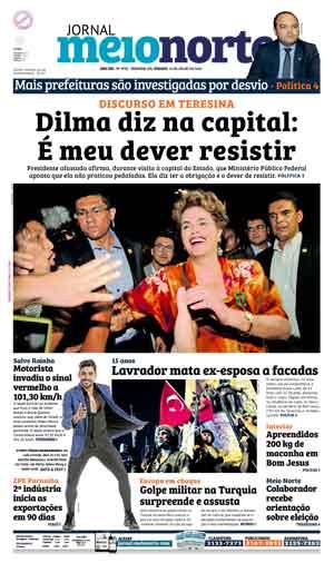 Jornal Meio Norte do dia 16-07-2016