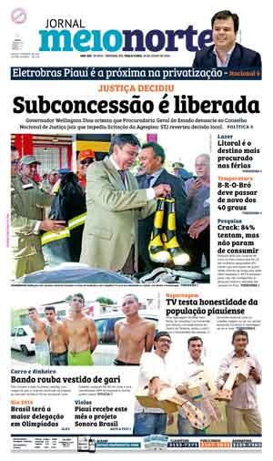 Jornal Meio Norte do dia 19-07-2016