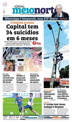 Jornal Meio Norte do dia 20-07-2016