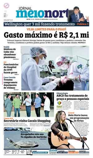 Jornal Meio Norte do dia 21-07-2016