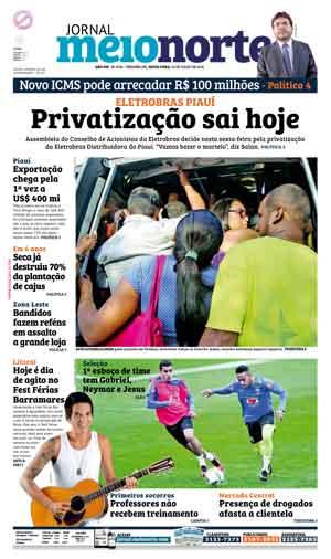 Jornal Meio Norte do dia 22-07-2016