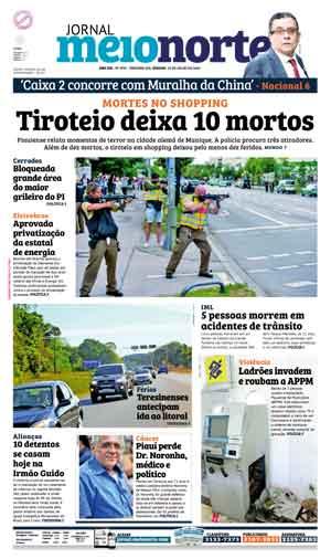Jornal Meio Norte do dia 23-07-2016