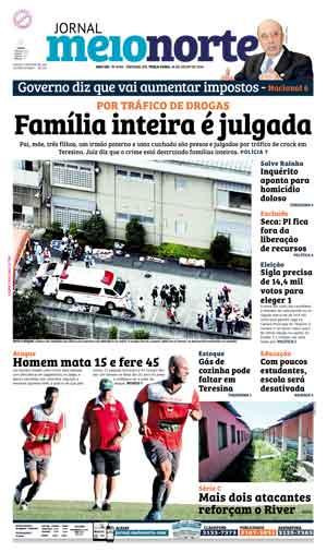 Jornal Meio Norte do dia 26-07-2016