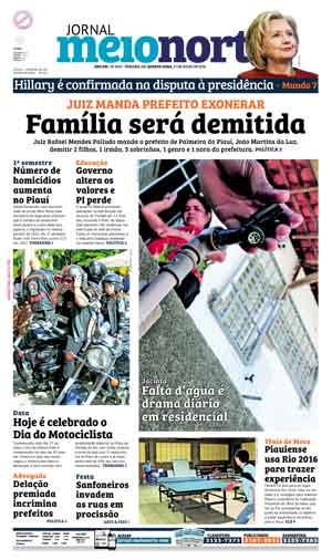Jornal Meio Norte do dia 27-07-2016