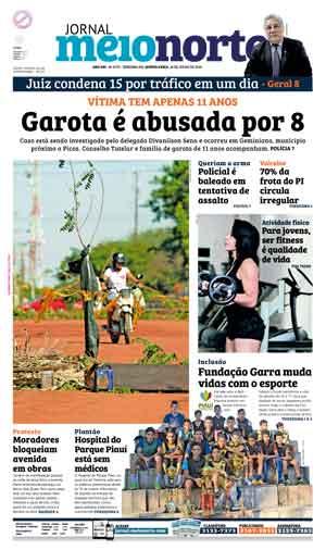 Jornal Meio Norte do dia 28-07-2016