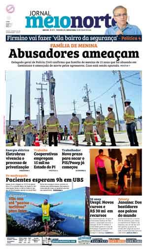 Jornal Meio Norte do dia 29-07-2016