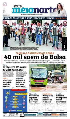 Jornal Meio Norte do dia 30-07-2016