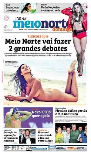 Jornal Meio Norte do dia 31-07-2016