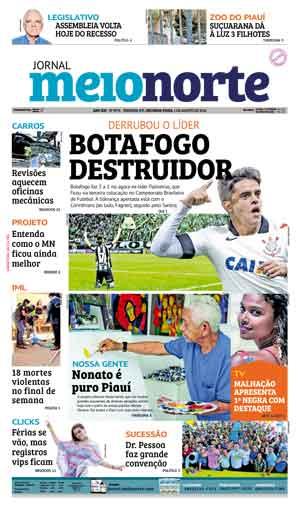Jornal Meio Norte do dia 1-08-2016