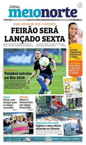 Jornal Meio Norte do dia 3-08-2016