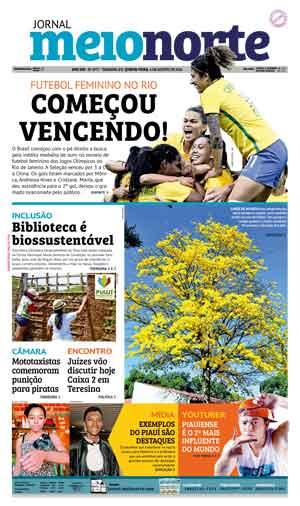 Jornal Meio Norte do dia 4-08-2016