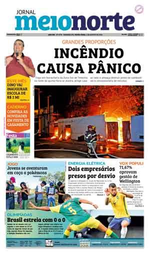 Jornal Meio Norte do dia 5-08-2016