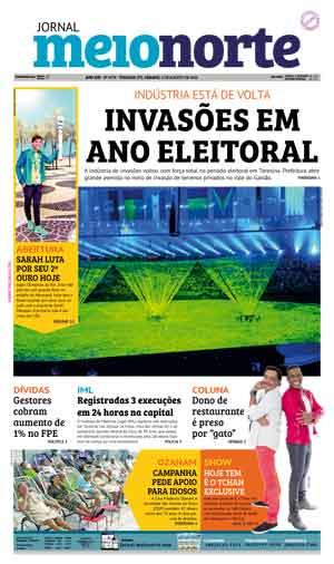 Jornal Meio Norte do dia 6-08-2016