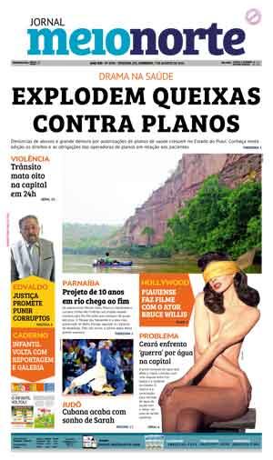 Jornal Meio Norte do dia 7-08-2016