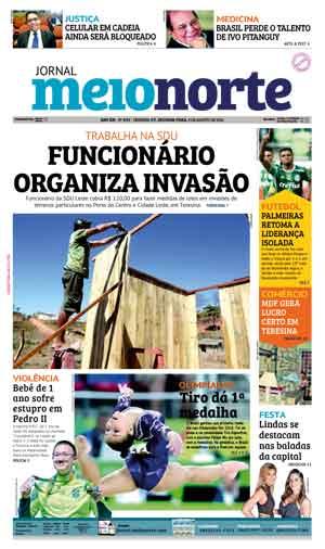 Jornal Meio Norte do dia 8-08-2016