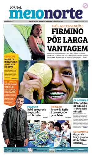 Jornal Meio Norte do dia 9-08-2016