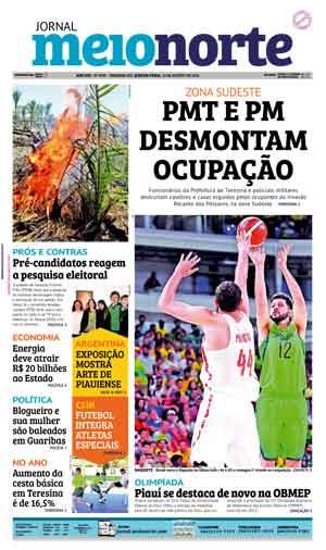 Jornal Meio Norte do dia 10-08-2016