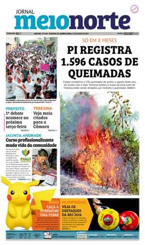 Jornal Meio Norte do dia 11-08-2016