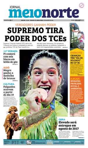 Jornal Meio Norte do dia 12-08-2016