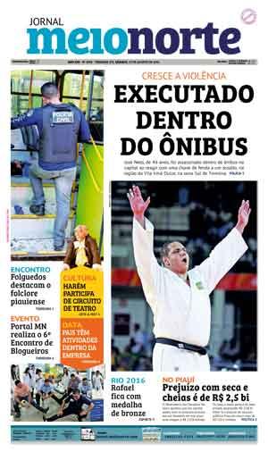 Jornal Meio Norte do dia 13-08-2016