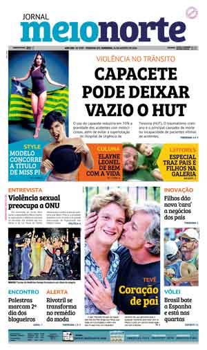 Jornal Meio Norte do dia 14-08-2016