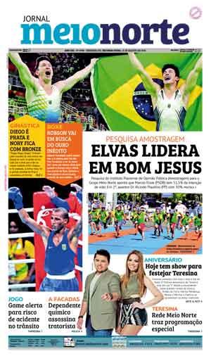 Jornal Meio Norte do dia 15-08-2016