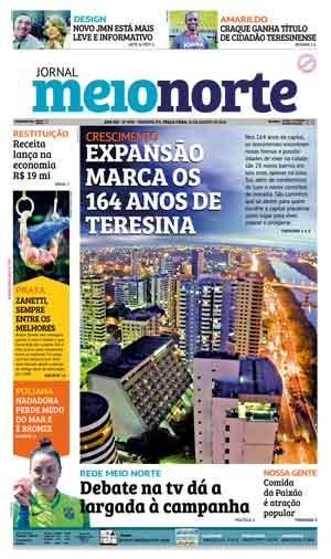 Jornal Meio Norte do dia 16-08-2016