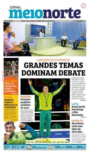 Jornal Meio Norte do dia 17-08-2016