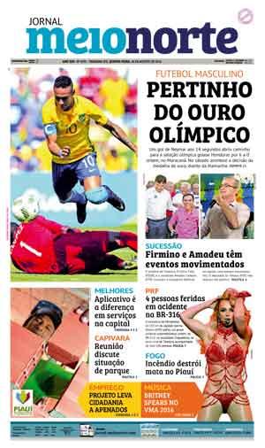 Jornal Meio Norte do dia 18-08-2016