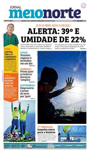 Jornal Meio Norte do dia 19-08-2016