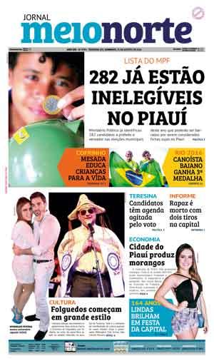 Jornal Meio Norte do dia 21-08-2016