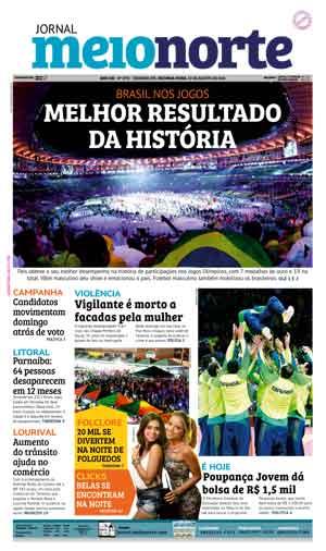 Jornal Meio Norte do dia 22-08-2016