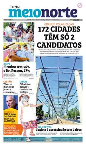 Jornal Meio Norte do dia 23-08-2016