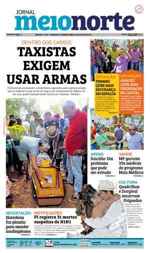 Jornal Meio Norte do dia 24-08-2016