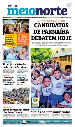 Jornal Meio Norte do dia 25-08-2016
